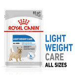 royal canin light weight care pouch